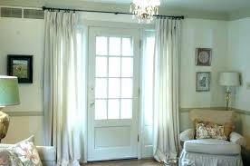 back door window curtain back door ds curtain front door window window treatments for french doors