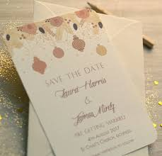 Winter Wedding Save The Date Christmas Winter Wedding Save The Date Cards By Beautiful Day