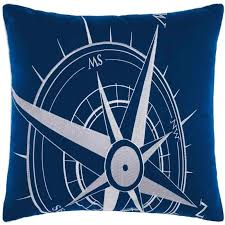white and navy throw pillows pillows victory embellished compass navy white outdoor throw pillow latest bedding navy blue and white striped throw pillows