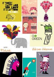 Adrian Johnson Illustrator of Modern – Vintage work |