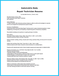 Resume Cover Letter Samples For Sales Jobs Resume Cover Auto Body
