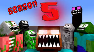 Monster School: SEASON 5 ALL EPISODE - <b>Minecraft Animation</b> ...