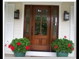 Exterior Wood Doors With Glass Panels  YouTube a