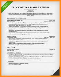 12 13 Truck Driver Objectives For Resume Lascazuelasphilly Com
