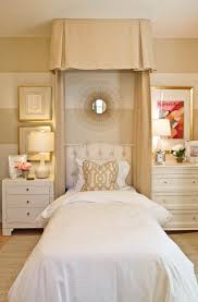 jessica simpson bedding in bedroom traditional with beige walls