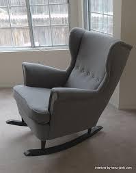 ikea wingback chair regarding ikea strandmon rocker diy rocking interiors designs 11