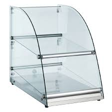 glass display case. Glass Food Display Case Non-Refrigerated