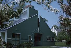 the story behind the vanna venturi house uncube the house was originally painted grey it was painted in green after bob heard marcel