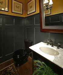 Marble Bathroom Sink Countertop White Marble Countertop Black Toilet Almond Sink And Fish
