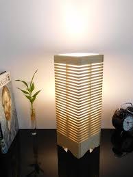 unique bedside lamps wooden desk lamp made of solid birch wood led bulb unique