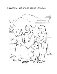 Jesus Loves You Coloring Pagejesus Loves You Coloring Page Jesus
