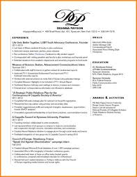 Resume Skills Section Example Resume Skills Section Resume Template