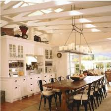 white country cottage kitchen. Here\u0027s A Fabulous Country Cottage Style Kitchen With White Wood Beam Ceilings And Breathtaking Candle K