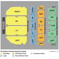 Ppac Seating Chart Studious Nashville Performing Arts Center Seating Chart The