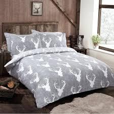 silentnight stag king size duvet set bedding bm king size duvet cover king size duvet cover