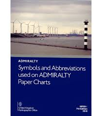 Np5011 Symbols And Abbreviations Used On Admiralty Charts 7th Edition 2018