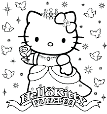 Coloring Pages Printables Hello Kitty Hello Kitty Printable Coloring