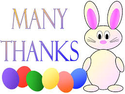 Thank You Easter Printable Easter Thank You Cardskitty Baby Love