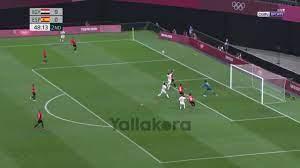 ملخص مباراة مصر واسبانيا