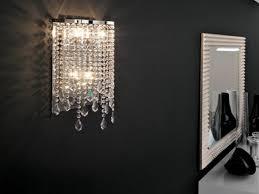 wall sconces for bathroom. Crystal Wall Sconces Bathroom Sconce Light For