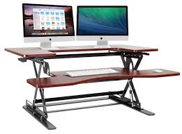 office charming platform height adjule standing desk riser smooth and le dual gas spring motion