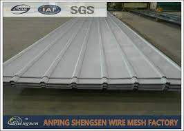 alloy corrugated steel sheets corrugated metal roof panels 1m 11 8m length