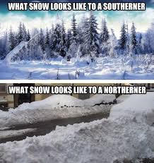 How you see snow depends on where you live... - The Meta Picture via Relatably.com
