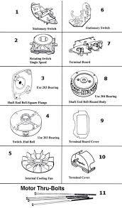 similiar ao smith fan motor wiring diagram keywords ao smith motor parts diagram motor magnetek century ac motor