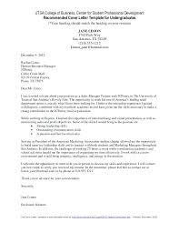 College Cover Letter Sample College Cover Letter Examples Cover