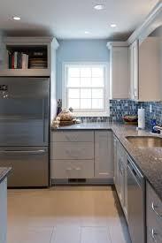 Transitional Contemporary Kitchen Design In Dc With Dura Supreme White  Cabinets. Washington ...