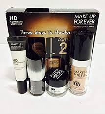 make up for ever hd plexion starter kit 127 dark sand 1 kit
