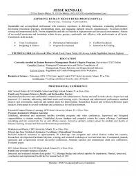 Example Resume Summary Best Picture Resume Summary Statement Higher Education Resume Example