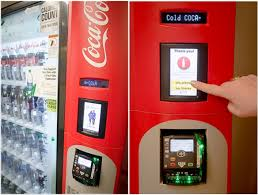 Used Soda Vending Machines For Sale Inspiration Coke It Forward Company Pilots Charitable 'Buy 48 Donate 48' Vending