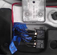 duel relay trans brake a stock converter before and after these are the 2 wires you cut from the harness and splice into after we got everything connected we tapped everything back up and you would never know the