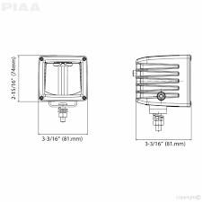 piaa rf series 3″ led cube light driving beam kit 259 99