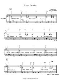 stevie wonder happy birthday piano tutorial