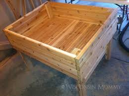 elevated garden bed. This Is A Smaller Elevated Raised Garden Bed. It Would Be Good For Planting Small Or Even Using Herbs. Bed