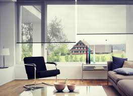 Modern Roller blinds lifestyle picture