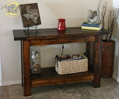 pottery barn inspired entryway table