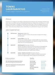 Modern Business Resume Template Resume Examples Interesting For You Can Learn From How To Make