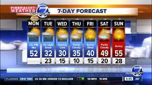 denver weather forecast 14 day. colorado weather forecast from denver7 denver 14 day