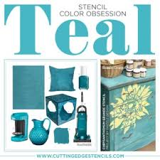 Teal Accent Home Decor teal accent wall Archives Stencil Stories Stencil Stories 9