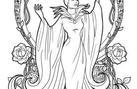 Small Picture maleficent coloring pages Just Colorings
