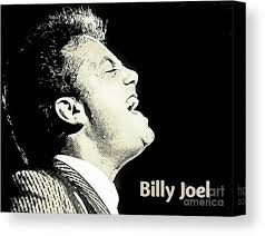 Free shipping and exclusive concert streaming for members. Billy Joel Poster Canvas Print Canvas Art By John Malone