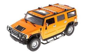 <b>Радиоуправляемая</b> машина MZ Hummer H2 Yellow 1:10 - 2056A ...