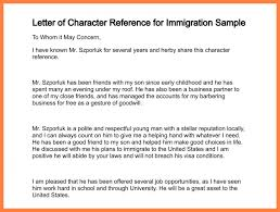 7 Sample Relationship Letter For Immigration Corpus Beat