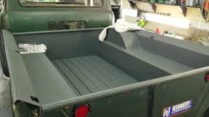 diy truck bed liner new raptor liner 1963 s jeep fc 150 bedliner and cab floor