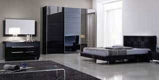 black modern bedroom furniture. Modern Bedroom Design With Furniture Sets With Grey Area Fur  Rug And Black Drawer Cabinet Plus White Floor Black Modern Bedroom Furniture A