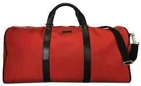gucci boston bag 2way red plain fabric red nylon leather men gap dis shoulder bag sports