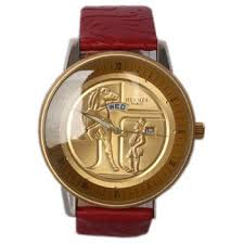 buy hermes red leather gold rim mens watch shop fashion watches hermes red leather gold rim mens watch